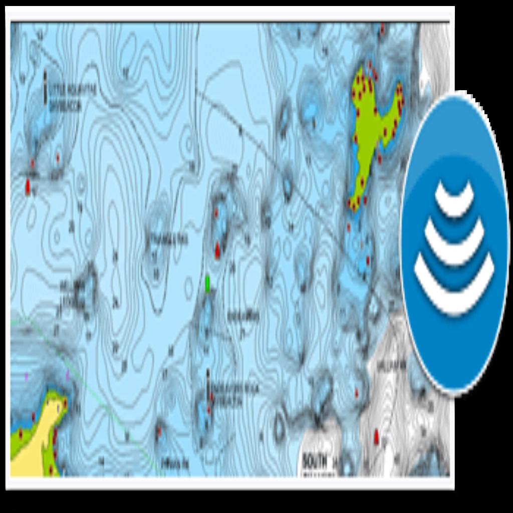 Camp Narrows Lodge Rainy Lake Ontario Navionics Map